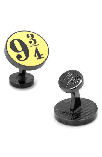Men's Cufflinks, Inc. Harry Potter Platform 9 3/4 Cuff Links