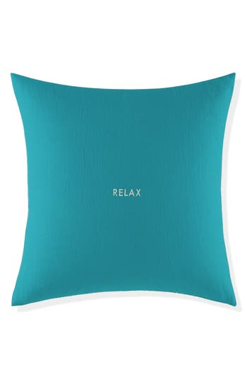 Kate Spade New York Relax Pillow, Size One Size - Blue/green