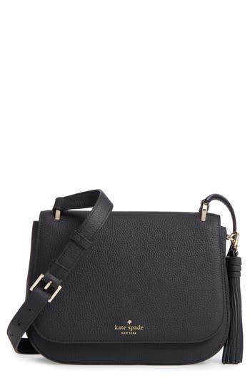 Kate Spade New York Daniels Drive - Tressa Leather Crossbody Bag -