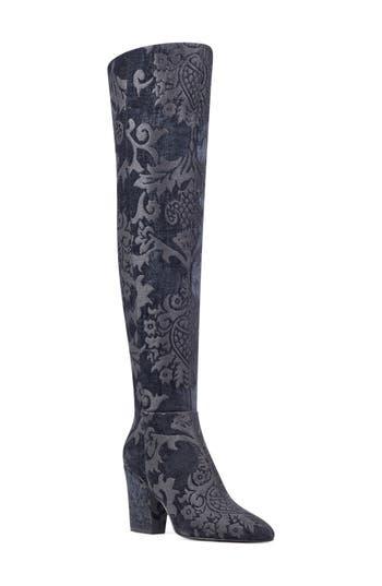 Nine West Siventa Over The Knee Boot, Black