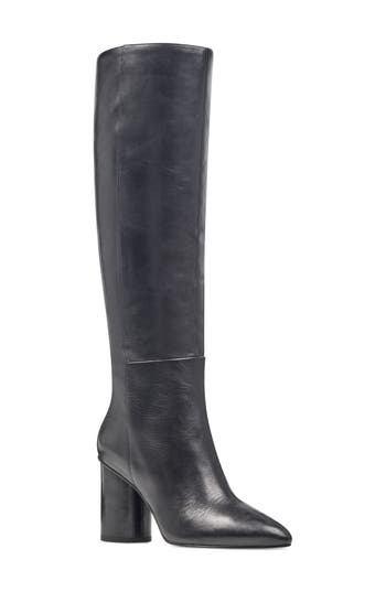 Women's Nine West Christie Knee High Boot, Size 8 M - Black