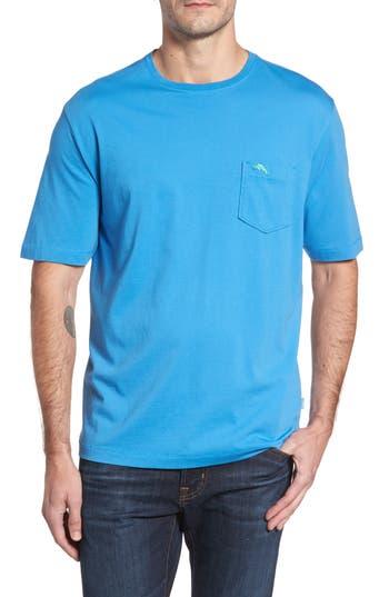 Big & Tall Tommy Bahama Bali Skyline Pocket T-Shirt, Blue