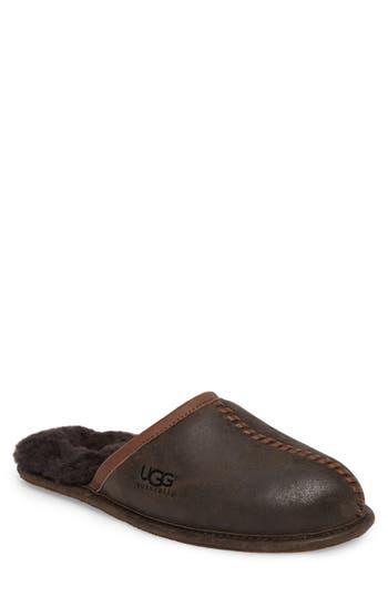 Ugg Scuff - Deco Genuine Shearling Slipper, Brown