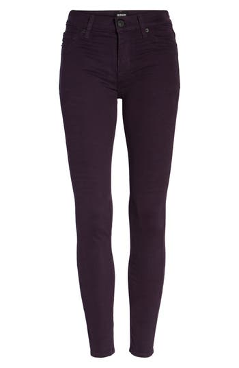 Hudson Jeans Nico Ankle Skinny Pants, Purple
