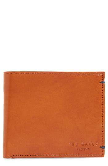 Men's Ted Baker London Vivid Leather Wallet - Brown
