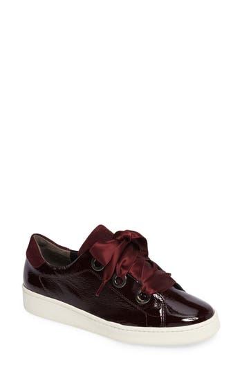 Paul Green Ribbon SneakerUS /4UK - Burgundy