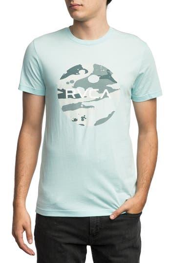 Rvca Stash Motors Graphic T-Shirt, Blue