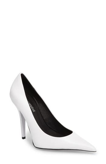 Jeffrey Campbell Ikon Pump, White