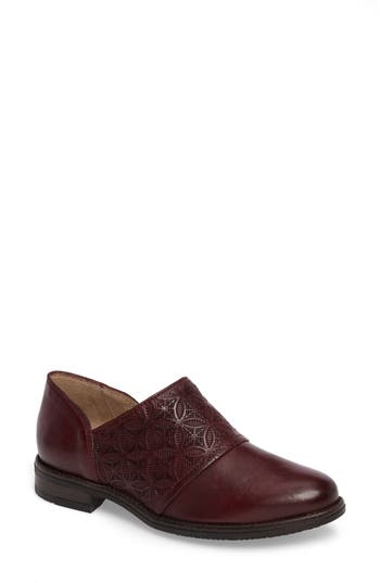 Miz Mooz Tennessee Loafer Flat Burgundy