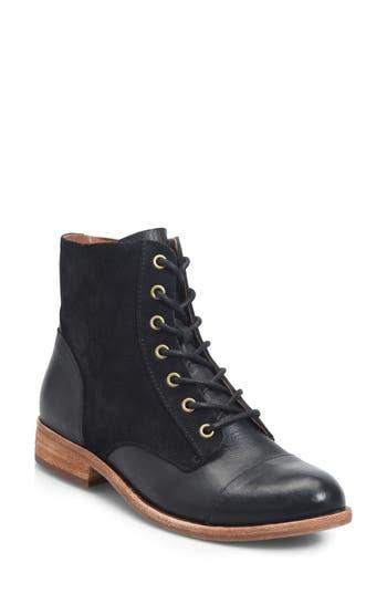 Kork-Ease Ramin Lace-Up Boot, Black