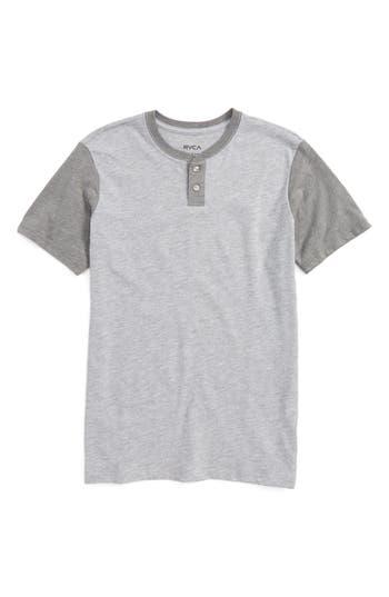 Boy's Rvca Pick Up Henley T-Shirt