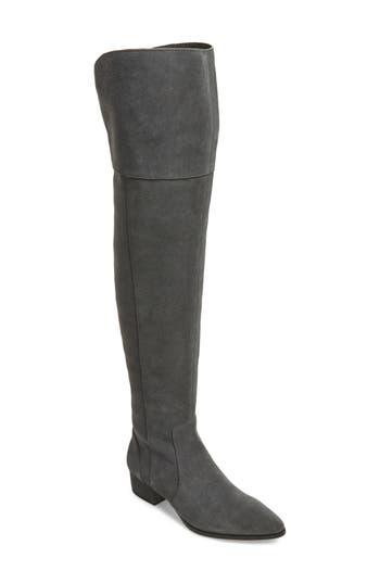 Splendid Ruby Over The Knee Boot, Grey