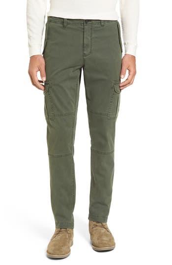 Michael Bastian Stretch Twill Cargo Pants, Green