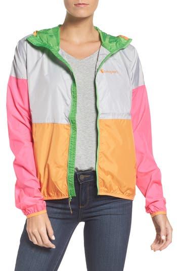 Women's Cotopaxi Teca Packable Water Resistant Windbreaker Jacket, Size X-Small - Pink
