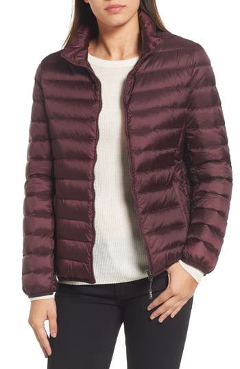 Tumi Pax On The Go Packable Quilted Jacket, Red