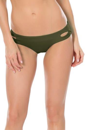 Becca Color Code Hipster Bikini Bottoms, Green