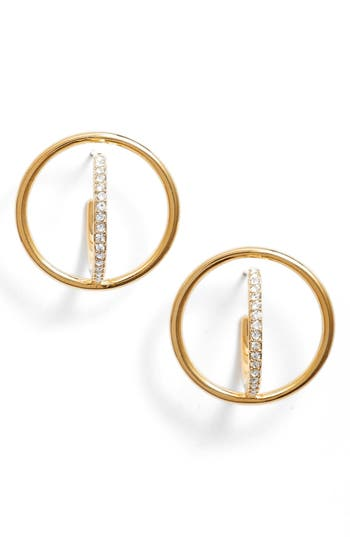 Women's Nadri Orbit Crystal Stud Earrings