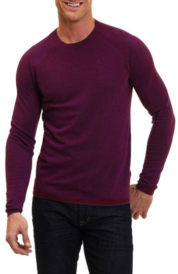 Robert Graham Ray Brook Wool Blend Sweater, Red