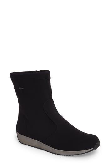 Ara Luella Waterproof Gore-Tex Boot, Black