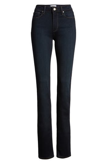 Women's Paige Transcend - Hoxton High Waist Straight Jeans at NORDSTROM.com