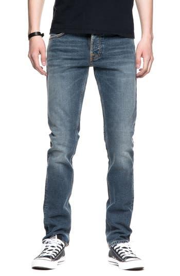 Nudie Jeans Grim Tim Slim Fit Jeans, Blue