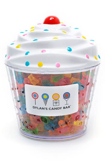 Dylan's Candy Bar Gummy Bears Cupcake