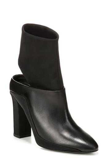 Via Spiga Agyness Cutout Boot, Black