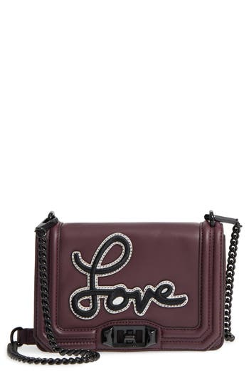 Rebecca Minkoff Small Love Patch Crossbody Bag -