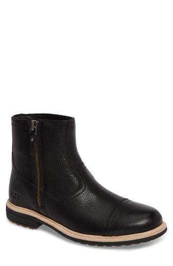 UGG® Dalvin Zip Boot with Genuine Shearling