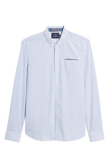 Men's Scotch & Soda Woven Stripe Shirt
