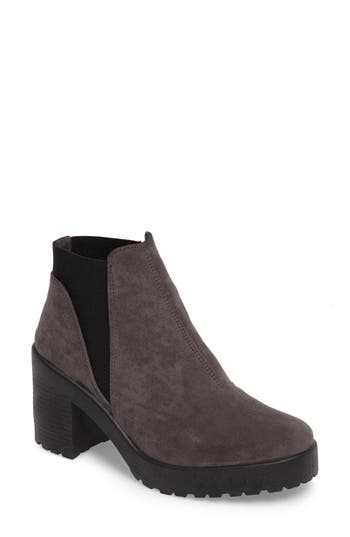 Topshop Billie Unit Boot - Grey