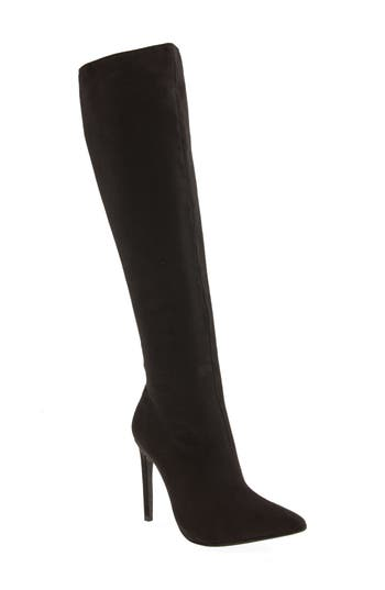 Jeffrey Campbell Jalouse Knee High Boot, Black