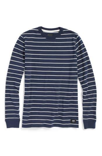 Boys Vans Milton Stripe Long Sleeve TShirt