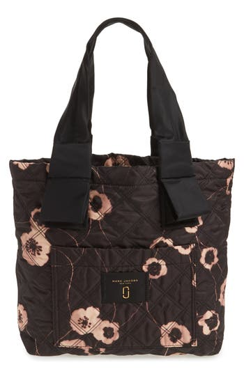 marc jacobs female marc jacobs small violet vines knot tote
