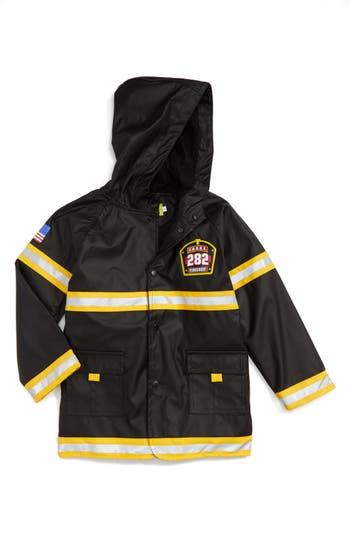Boys Western Chief Fire Chief Raincoat Size 5  Black