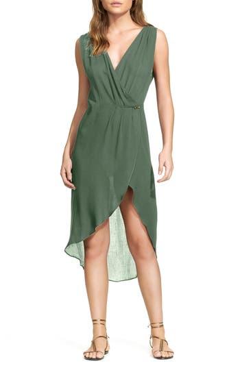 Vix Swimwear Gisele Cover-Up Caftan, Green