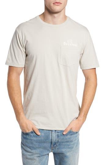 Brixton Tanka Ii Pocket T-Shirt, Grey