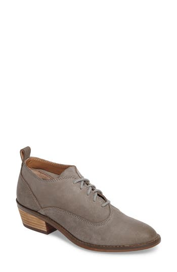 Lucky Brand Fantine Lace-Up Bootie, Grey