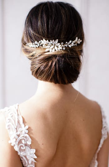Brides & Hairpins Rhea Halo With Combs, Size One Size - Metallic