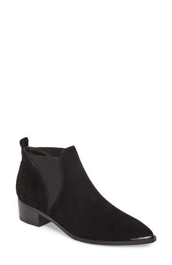 Marc Fisher Ltd Yellin Pointy Toe Chelsea Boot- Black