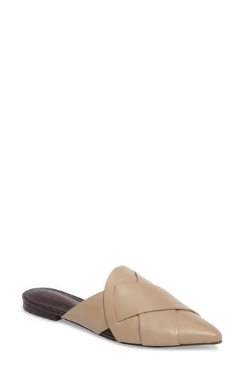 Mercedes Castillo Leive Pointy Toe Mule, Grey