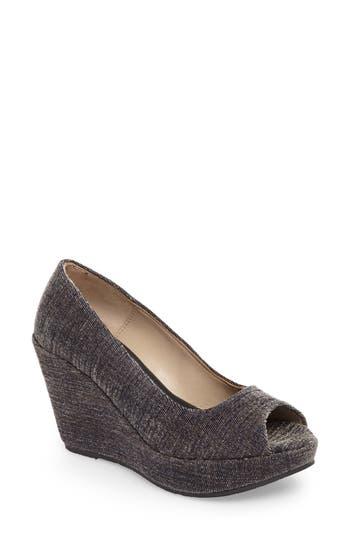 Cordani Rayner Open Toe Wedge - Grey