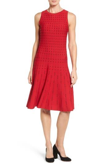 Nic+Zoe Iceland Twirl Dress, Red