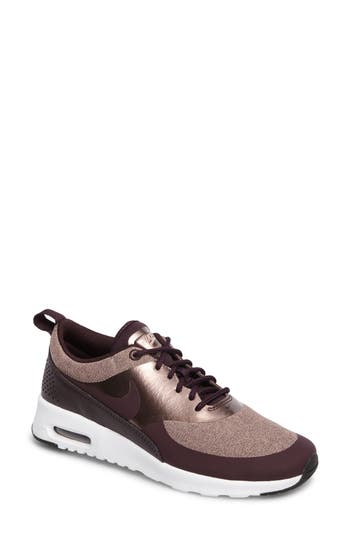 Nike Air Max Thea Knit Sneaker, Purple
