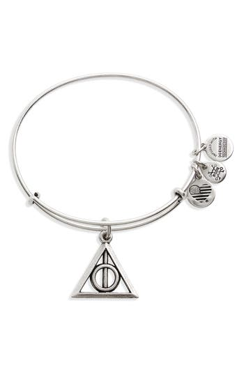 Alex and Ani Deathly Hallows™ Adjustable Wire Bangle
