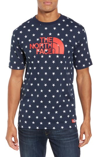 The North Face International Collection Star Print T-Shirt, Blue