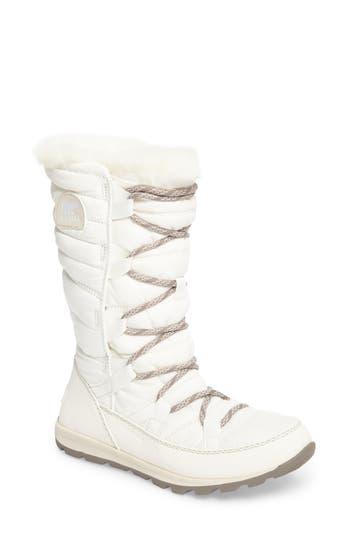 Sorel Whitney Snow Boot- Ivory