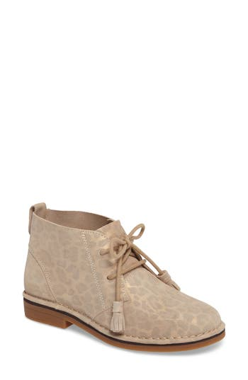 Hush Puppies Cyra Catelyn Water Resistant Chukka Boot W - Beige