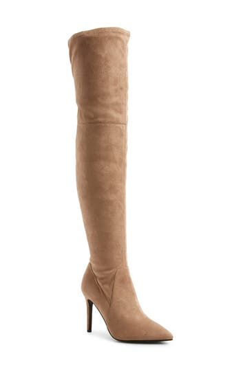 Bp. Fab Nara Over The Knee Boot, Beige