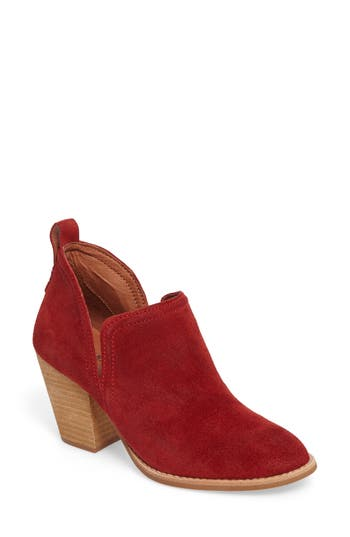 Jeffrey Campbell Rosalee Bootie- Red